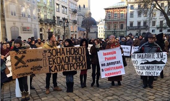 Львів'яни масово починають перекривати дорогу: вони обурені байдужістю Садового