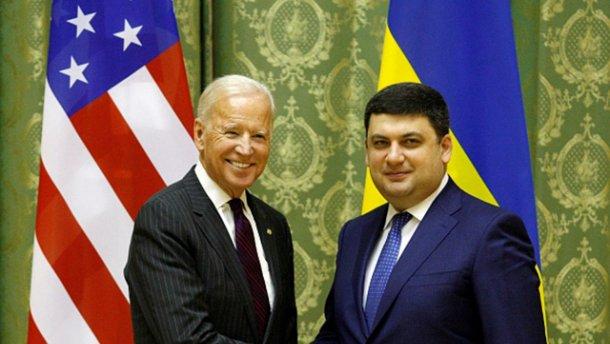 Наобіцяв: Гройсман поклявся Байдену продовжувати змінювати Україну