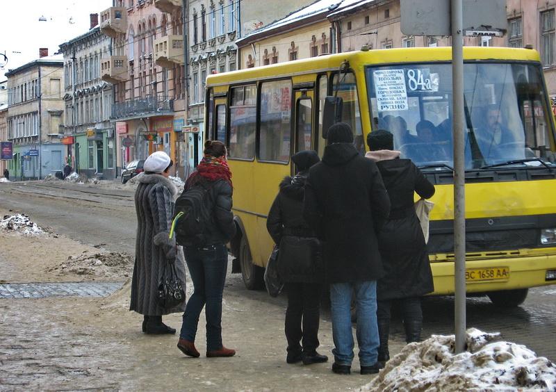 У Львові 80% маршруток не виїхало сьогодні