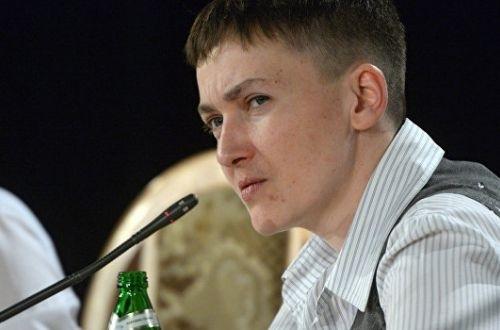 Савченко пояснила, навіщо їй ще один список полонених