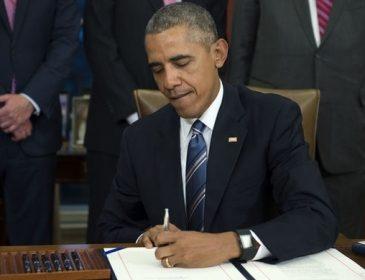 Прощальний подарунок Путіну: Обама продовжив санкції на рік