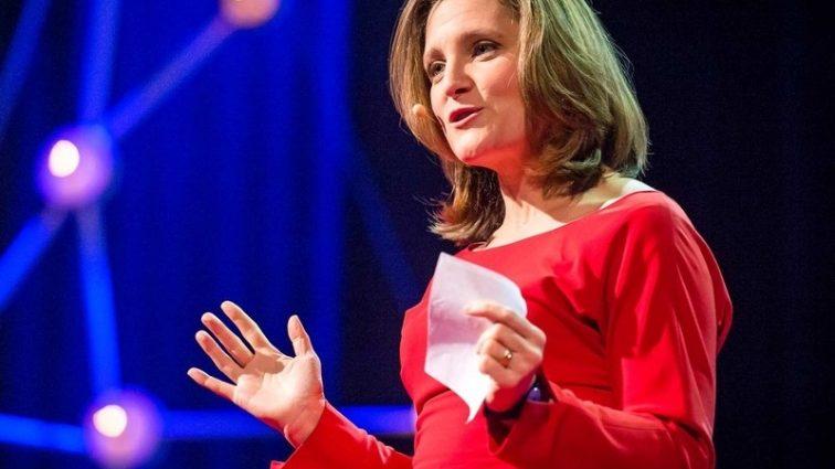 Міністром МЗС Канади стане жінка з українським корінням