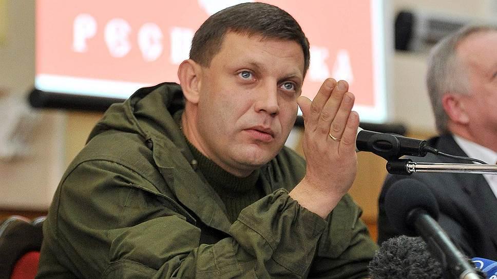 """Глава """"ДНР"""" Захарченко погрожує глушити """"Українське радіо"""""""