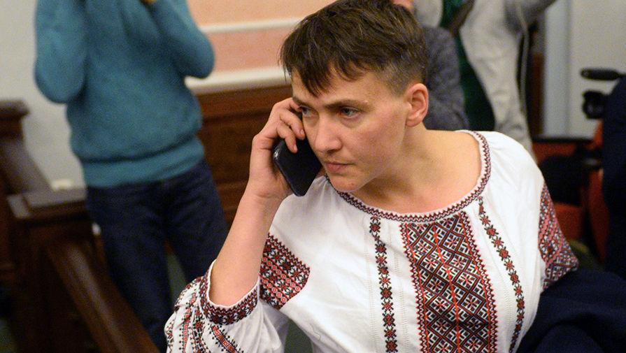 А вона ніяк не заспокоїться: Савченко збирає акцію протесту в центрі Києва (ФОТО)
