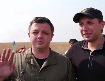 Семенченко з Парасюком заблокували ще одну дорогу