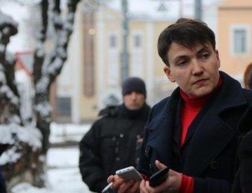 Савченко оприлюднила список українських полонених після поїздки в Донецьк (ФОТО)