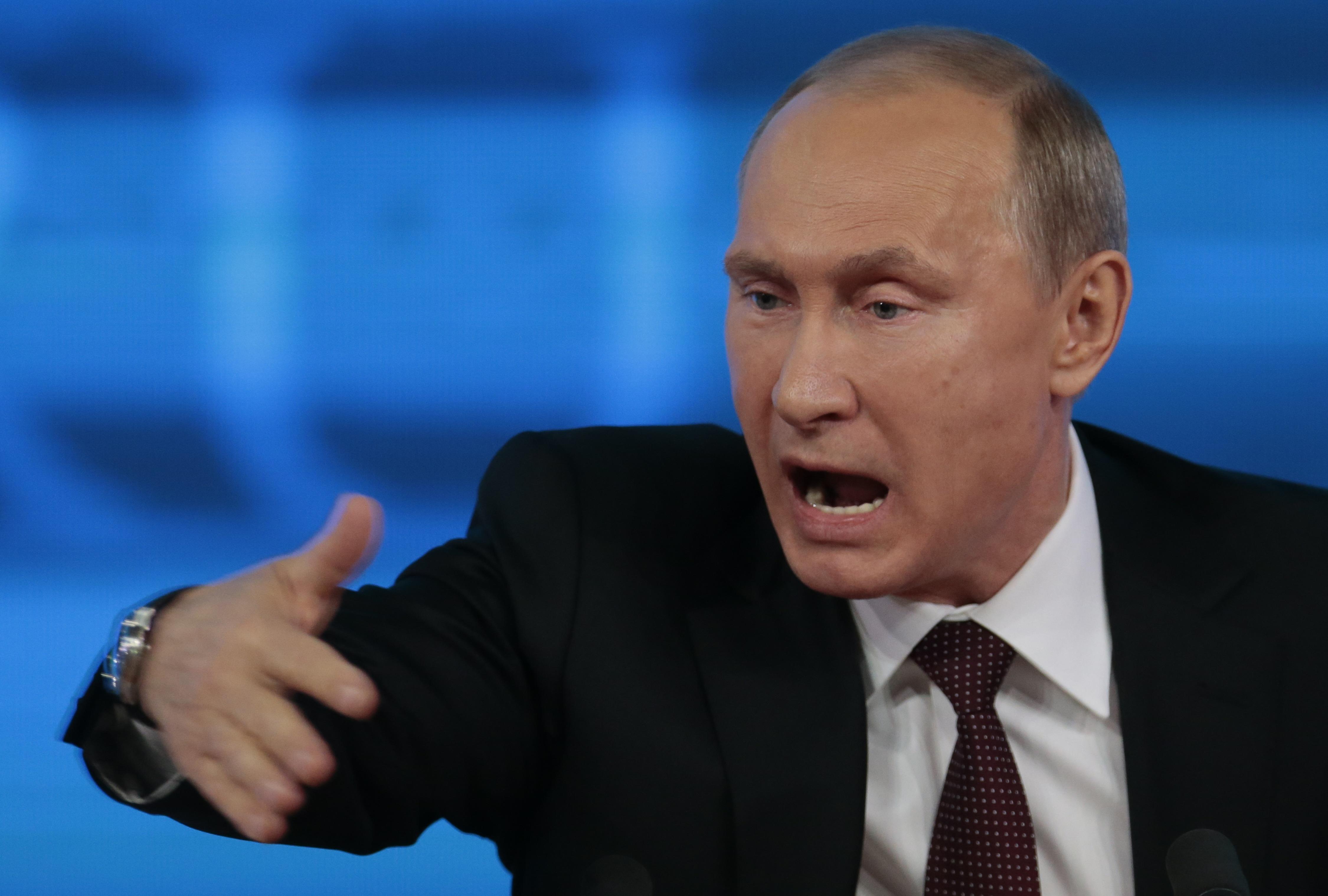 Путін звинувачує Україну в тероризмі в Росії