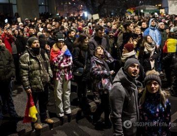 В Румунії назріває революція: на вулиці вийшли понад 500 тисяч протестувальників