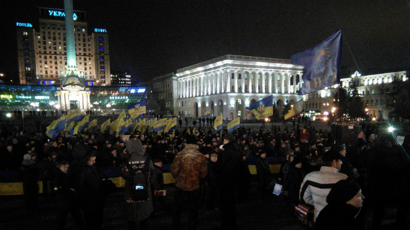 ТЕРМІНОВО! Сотні людей збираються на Майдані: ОНЛАЙН-ТРАНСЛЯЦІЯ