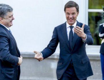 Порошенко привітав прим'єр міністра Нідерландів з перемогою