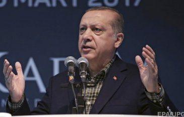 Різка заява: Ердоган звинуватив Меркель в нацизмі