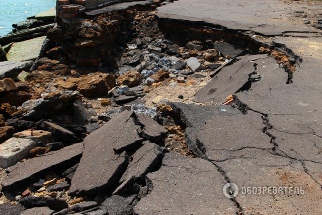 ТЕРМІНОВО!!! Частина Одеси може обрушитися в море: шокуючий фоторепортаж