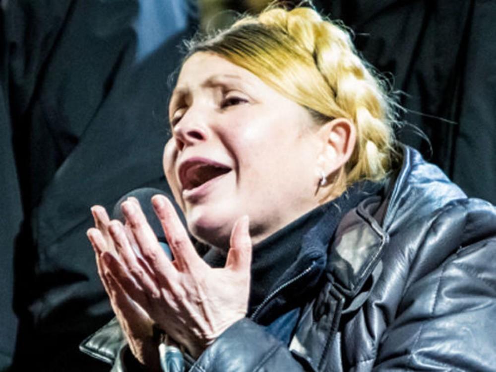 Тимошенко ридає: те, що Гройсман запропонував віддати в разі програшу Газпрому доводить нардепку до істерики