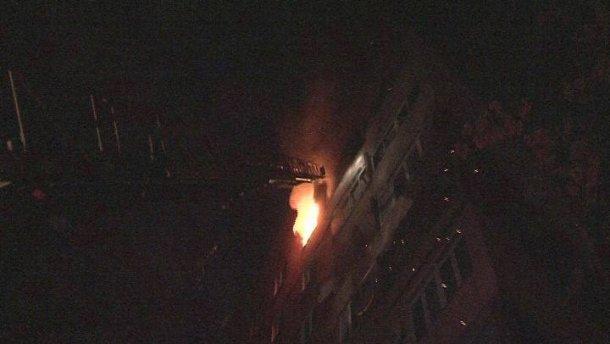Страшна пожежа в львівській багатоповерхівці. Людей масово евакуйовували!