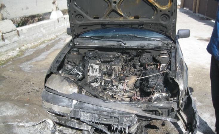 Автомобілісти, обережно! Масово горять авто!