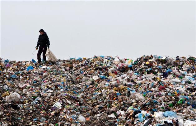 ЯКИЙ СОРОМ: Україну шокувала купа львівського сміття, яке перекрило дорогу(ФОТО)