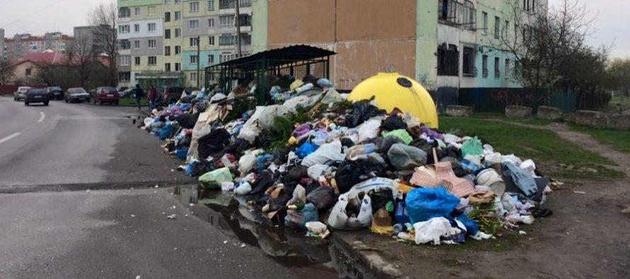 Сміттєвий апокаліпсис! Культурна столиця України продовжує перетворюватись на сміттєзвалище!