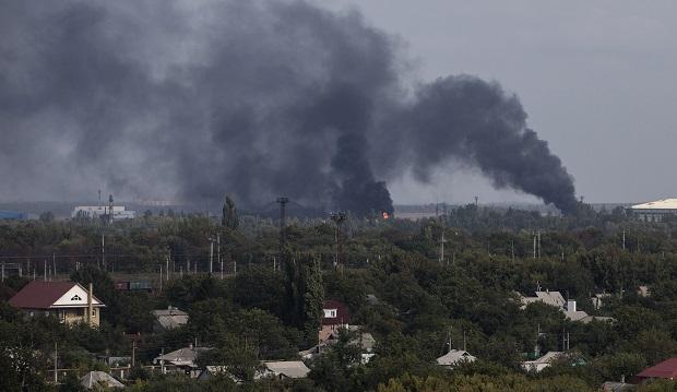 Все місто здригнулося… В Донецьку пролунав надпотужний вибух, його масштаб приголомшує