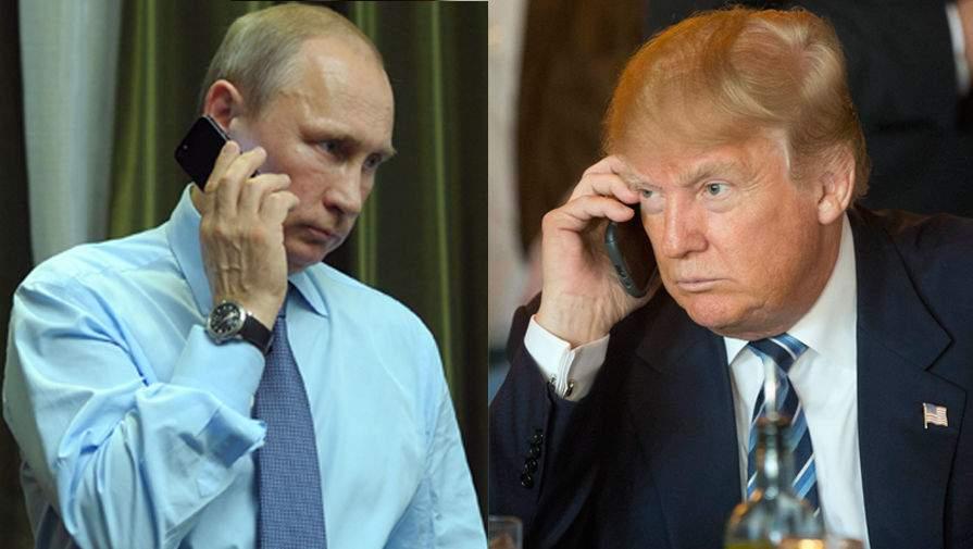 Стали відомі шокуючі подробиці розмови Путіна і Трампа. Ніколи не здогадаєтесь про що вони домовились!