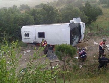 ТЕРМІНОВО!!! Перекинувся пасажирський автобус! Вісім людей загинуло, десяток поранених! Справді страшно!(ФОТО+ВІДЕО)