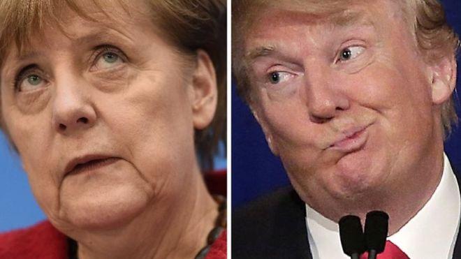 Ну Ви тільки послухайте: Меркель говорила з Трампом про Україну! Чого чекати пересічному українцеві?