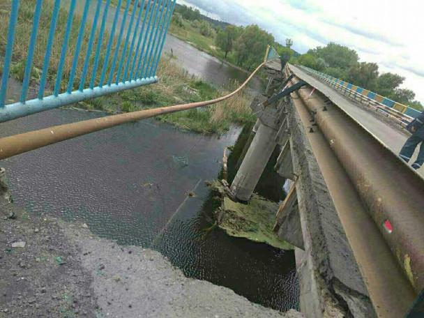 ТЕРМІНОВО!!! На Харківщині обрушилася частина 245-метрового мосту! Не впадіть від ЖАХУ!