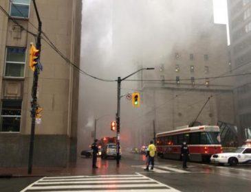 ТЕРМІНОВО! У центрі міста пролунав потужний вибух! Паніка охопила ВСІХ! Що ж там коїться? (ВІДЕО)