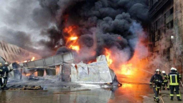 Там було пекло!!! В Тернополі загорівся величезний завод з людьми, там ТАКЕ коїлося…