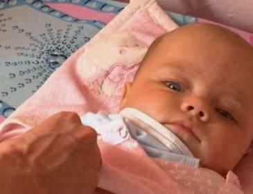 5-місячна Марина Петричук потребує негайної пересадки кісткового мозку