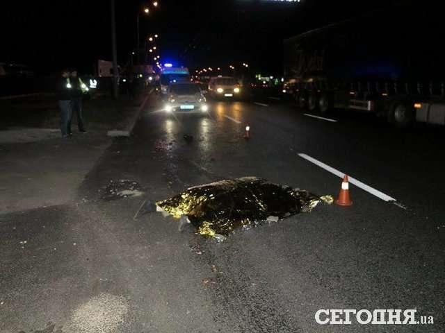 Від голови нічого не залишилось!!! Смертельна ДТП у Києві, видовище не для слабких нервів