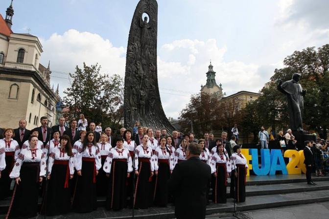Як у Львові відсвяткували День Незалежності