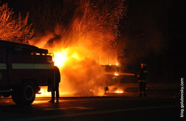 Там було справжнє пекло… В центрі Луцька спалахнула страшна пожежа, все місто в диму