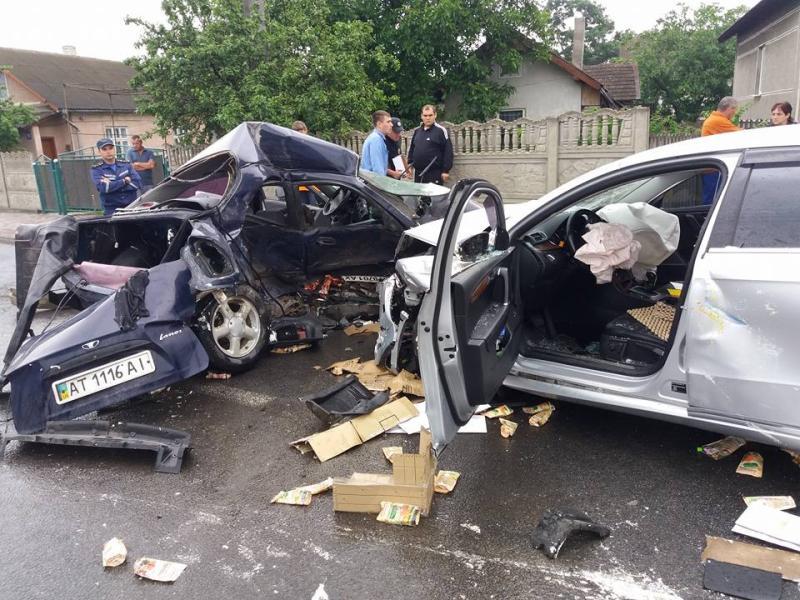Що ж там тільки було… В Києві сталася страшна ДТП, а все через те, що водій