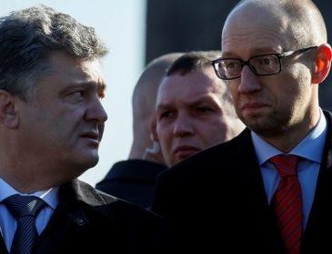 Вони точно щось задумали: Стало відомо про таємні переговори між Порошенком і Яценюком. Від деталей здуріти можна