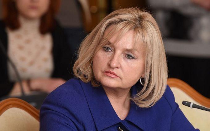 """У напівпрозорій сукні і з опухлим обличчям"""": Ірина Луценко шокувала  своїм виглядом на весіллі сина. Тільки погляньте!"""