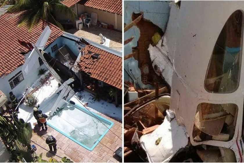 """""""Прямо на житловий будинок в 300 метрах від аеропорту"""": Впав літак, загинули люди"""