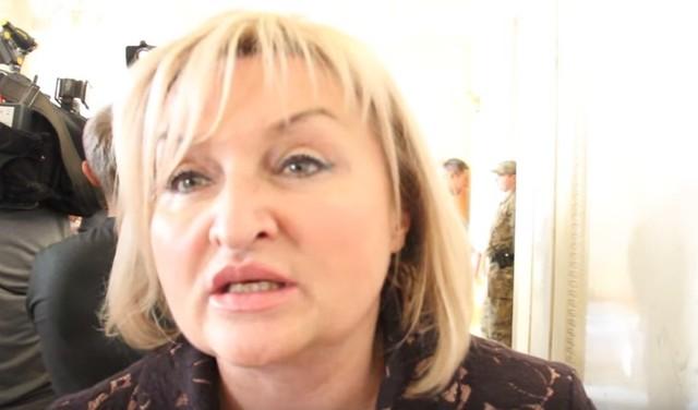 """""""Винеси козла! Винеси його наф*г"""": нецензурні викрики Ірини Луценко у ВР попали на відео"""