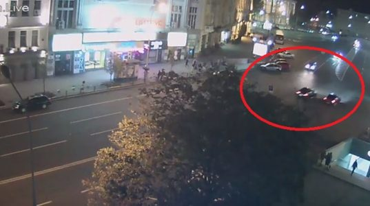Мережа активно обговорює відео перегонів, які спричинили жахливу ДТП у Харкові