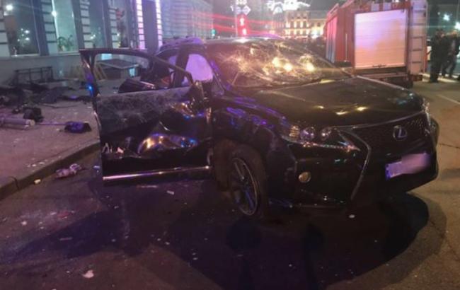 Смертельна ДТП в Харкові: водій Volkswagen Touareg дав перші показання