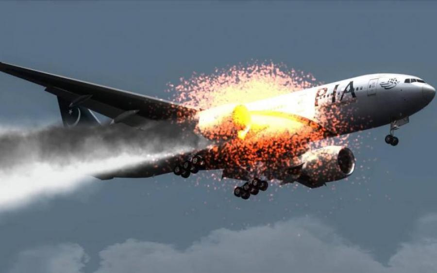 СПРАВЖНІЙ ЖАХ! Пасажирський літак загорівся просто у небі, а потім… Словами не передати, що там коїлось