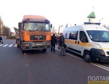 Жінка у тяжкому стані: Водій вантажівки збив пенсіонерку