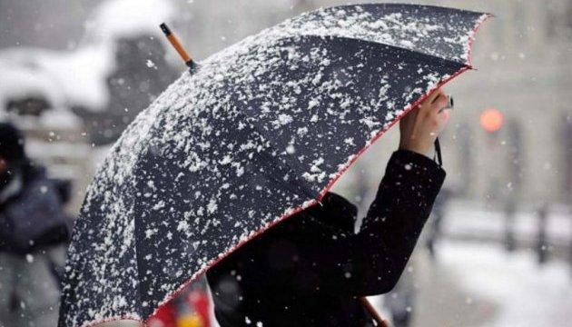 Оголосили штормове попередження: Останній день осені принесе мокрий сніг і ожеледицю