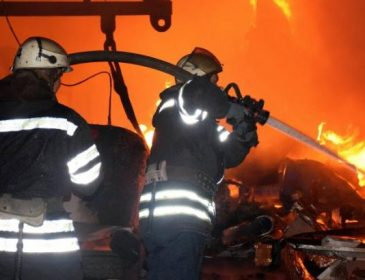 У центрі столиці сталася пожежа в житловому будинку