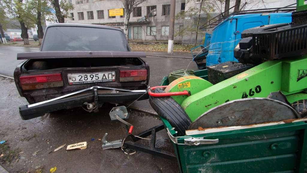 В Дніпрі сталася ДТП: дві автівки вщент розбиті