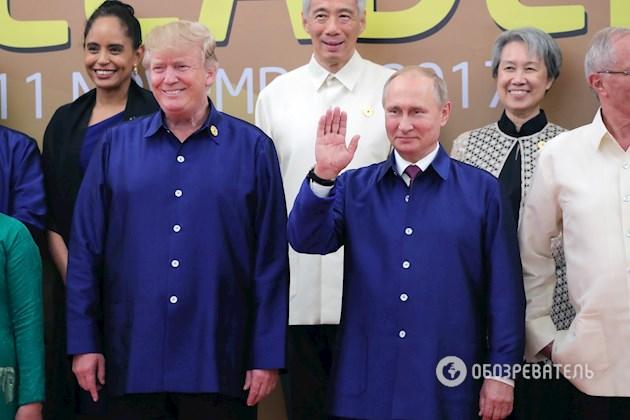 """""""Заява була спеціально підготовлена до зустрічі"""": стало відомо про що говорили Путін і Трамп в Дананзі"""