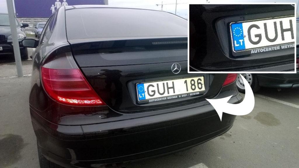 """""""Ініціює конфіскацію…"""": Литва зробила різку заяву про авто з литовськими номерами в Україні"""