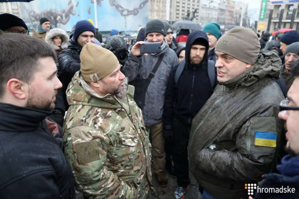 """""""Піди і у Пороха від*оси"""": З'явилось відео нападу бійців """"Азову"""" на Бірюкова"""