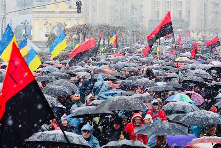 """""""На цьому тижні нас буде 100 000"""": Завтра відбудеться масовий протест в центрі Києва, дізнайтеся подробиці"""