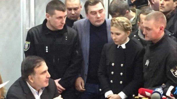 """""""Я – військовополонений"""": Гучна заява Саакашвілі з залу суду"""
