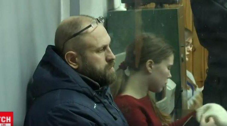"""Під час засідання, в """"клітці"""": Стали відомі подробиці суду над Зайцевою і Дроновим"""